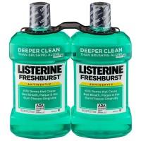 Listerine Freshburst Antiseptic Mouthwash - 1.5L (Pack of 2)