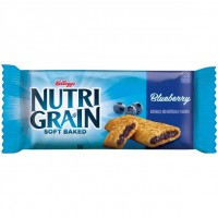 Kellogg's Nutri-Grain Cereal Bar, Blueberry, 1.3 oz.