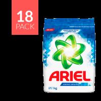 Ariel Aroma Original Detergent - 1Kg (Pack of 18)