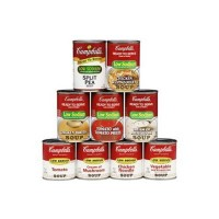 Campbell's Ready To Serve Low Sodium Vegetable Soup - 7.25 oz (Case of 24)