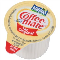 Nestle 35120 Coffee Mate Regular Liquid Creamer - 0.38 Oz. (Box of 180)