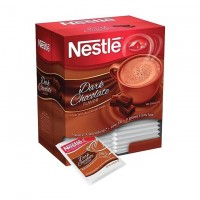 Nestle Dark Chocolate Hot Cocoa Mix Beverage - 0.71 Oz. (50 Packets Per Box) -  12 Boxes