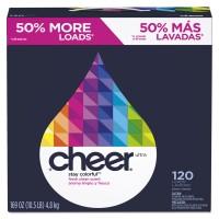 Cheer Powder Ultra Laundry Detergent, Fresh Clean Scent - 169 oz (Case of 2)