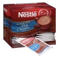 Nestle Hot Cocoa Mix Fat Free No Sugar Added - 0.28 oz. (Case of 180)