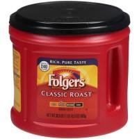 Folgers Classic Roast Ground Coffee - 50.5 Oz. (Case of 6)