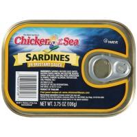 Chicken Of The Sea Sardines In Mustard - 3.75 oz.