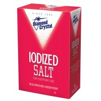 Diamond Crystal Iodized Salt - 2.25 Lb. (Case of 18)