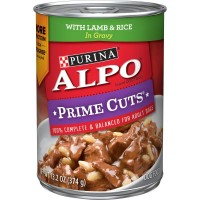 Purina Alpo Prime Cuts Lamb and Rice in Gravy Wet Dog Food - 13.2 oz. can