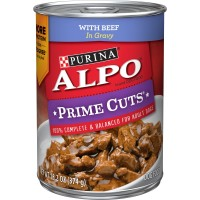 Purina Alpo Prime Cuts Beef in Gravy Wet Dog Food - 13.2 oz. can