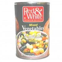 Red & White Mixed Vegetables - 15 oz.